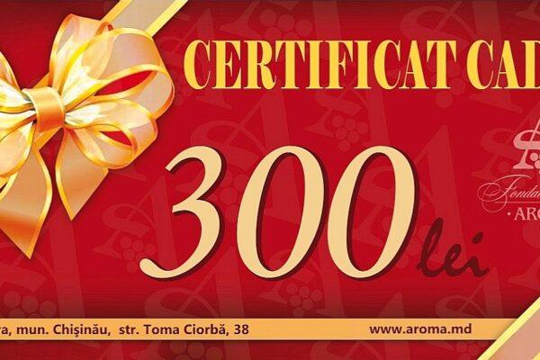certificat 300 lei