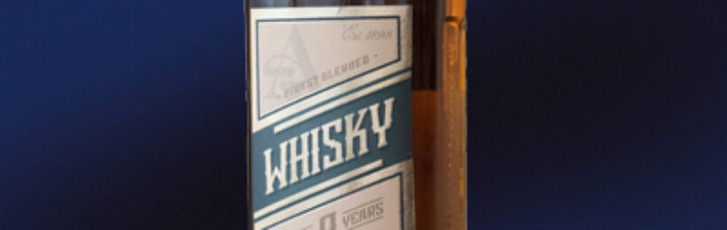 WHISKY «AROMA» 9 years old