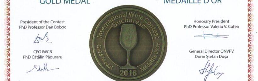 International Wine Contest Bucharest 2016